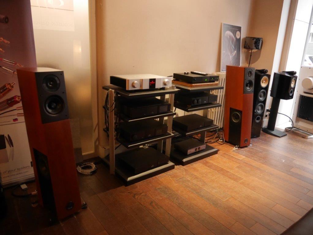 Audio Phisics Virgo 25 & KA I 180 Mk2