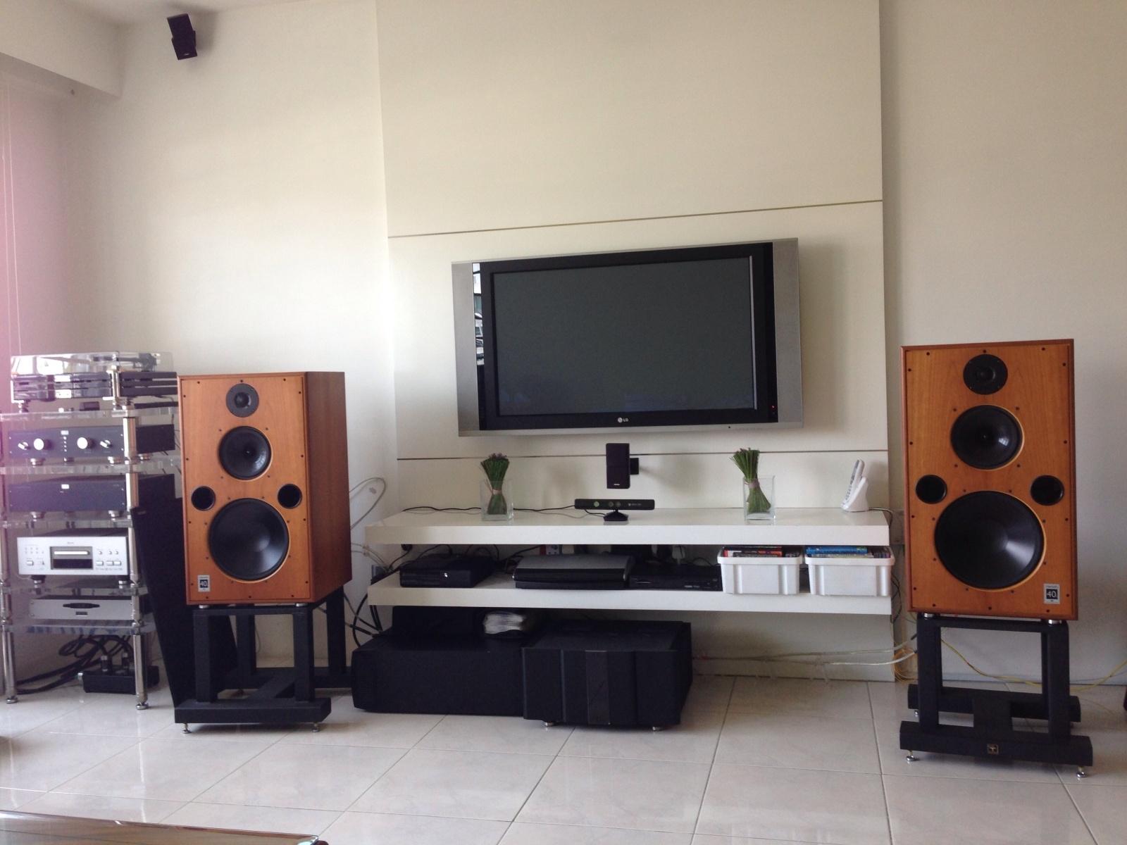 Harbeth Monitor 40.1 & KAS600