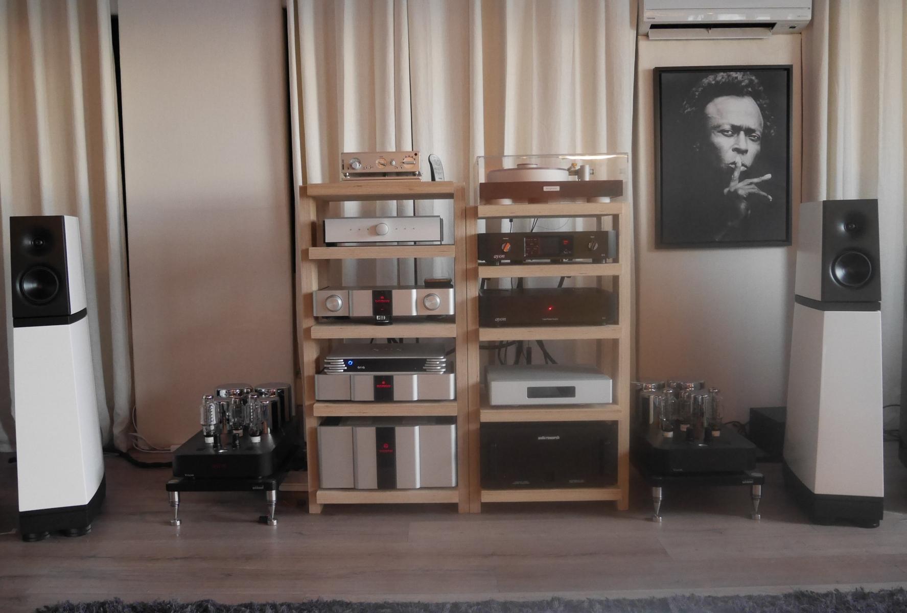 Verity Audio Parsifal + KAS600 + KAL Ref mk3 small
