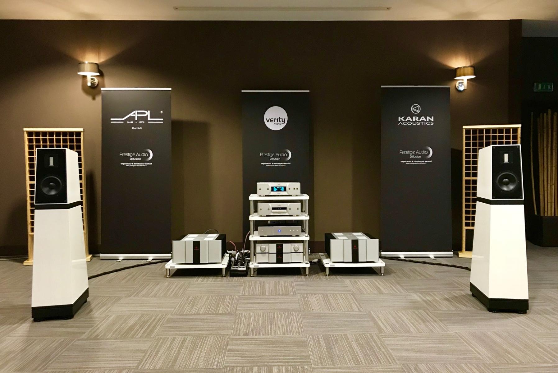 Verity Audio Sarastro IIS + KAM 2000 + KA L Ref Mk3